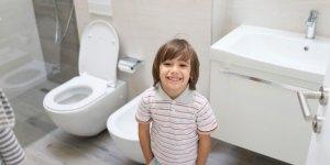 Potty Training kid smiling