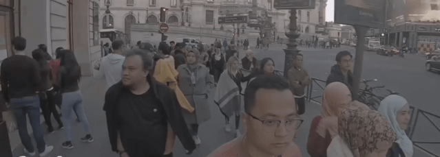 [VIDEO] Licik! Rakaman Penuh Terkena Pick Pocket Di Paris