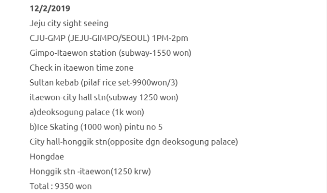 Trip Ke Seoul Dan Jeju Selama 8 Hari Dengan Kos RM1500 Termasuk Flight. Berbaloi Sangat! 4