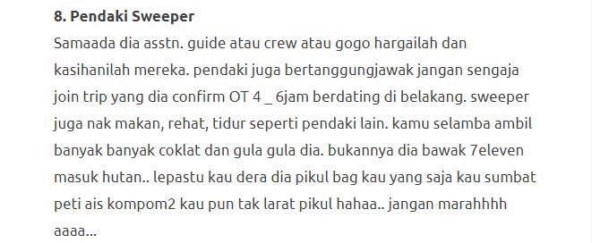 """""""Be A Responsible Hiker"""", Pesanan Untuk Para Hiker Sekalian 13"""
