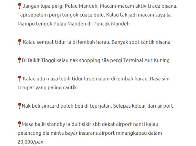 Lelaki Ini Bercuti Ke Lokasi Menarik Di Padang, Indonesia Dengan Modal Hanya RM600 Je! 18