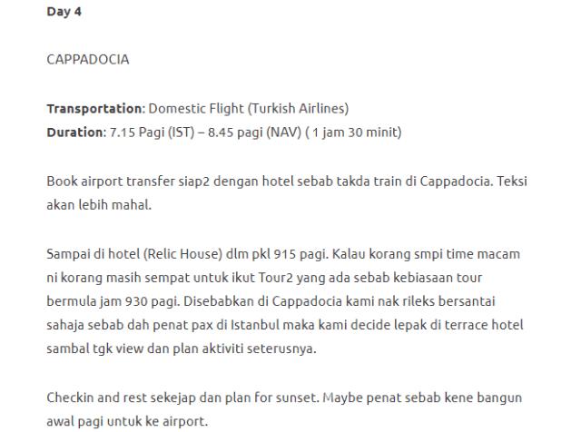 Menjelajahi Turki Selama 11 Hari Dengan Modal Hanya RM3750. Memang Sempoi! 25