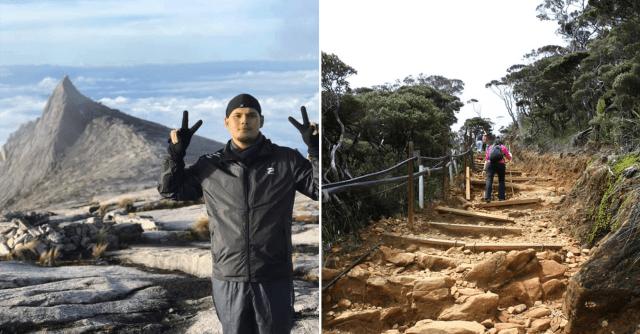 Persedian Dan Tips Mendaki Gunung Kinabalu