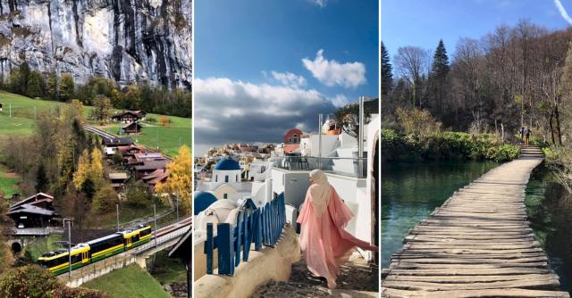 Trip Melancong ke Eropah Idaman Ramai Orang, Tawan 14 Negara. Wanita Ini Kongsikan Itinerarinya