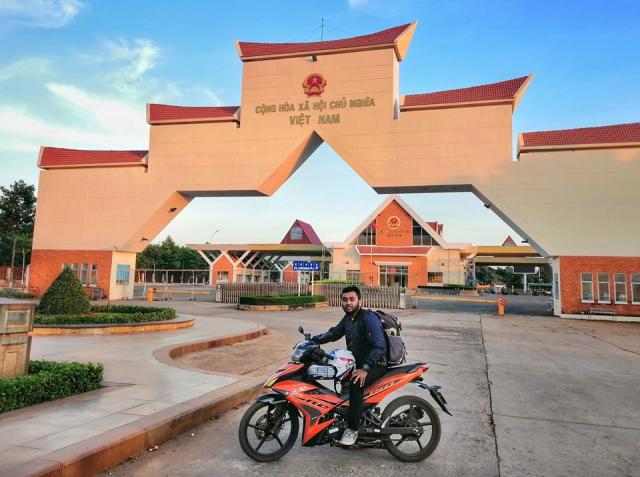 Jelajah Ke 5 Sempadan Asia Tenggara Dengan Motosikal Ysuku Selama 13 Hari. Steady! 7