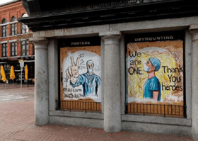[Foto] Hebah Kesedaran Bahayanya COVID-19 Melalui Graffiti 12