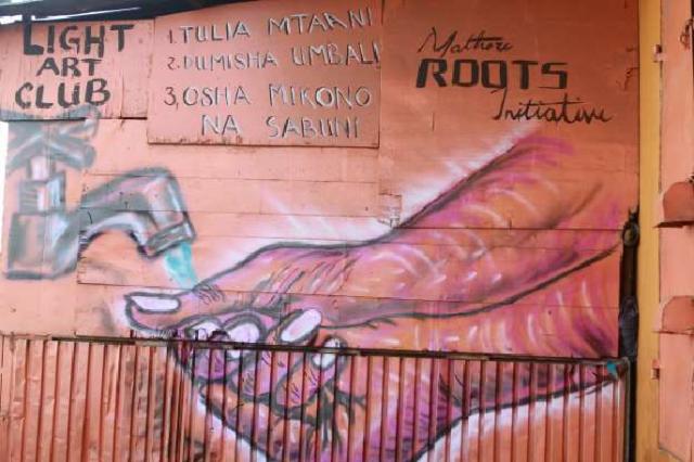 [Foto] Hebah Kesedaran Bahayanya COVID-19 Melalui Graffiti 18