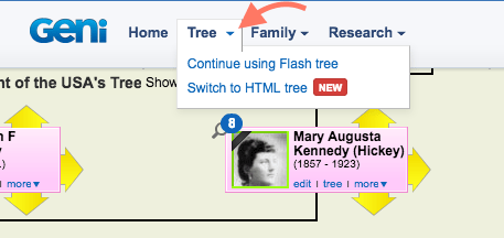Introducing Our New HTML Tree on Geni