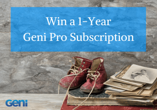 Family History Month: Win a Geni Pro Subscription!