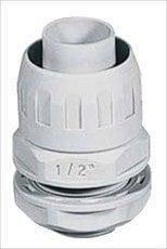 ECGX12 ECGX12 Boîte gaz Embout de gaine IP65 gaine diamètre 12 mm-Gris