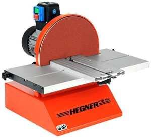 Hegner 6400000 HSM 300 Ponceuse à disques pour disques de 300mm
