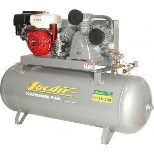 Lacme – Compresseur Thermique Fixe à Piston De Chantier 300 Litres