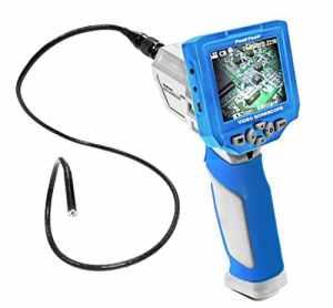 Peak avec affichage amovible de couleur 3,5TFT caméra endoscope vidéo, appareil photo 8mm Diamètre et USB/Carte SD, 1pièce,, P 5600