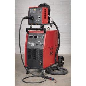 SEALEY powermig6025s 415V 250A fil torche mig avec Binzel Euro professionnelle et portable Drive