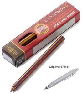 Troïka Kit de recharge pen57-99z124–Mines pour Zimmermann Magic (pen57/SI)–mehrf arbminen de Koh-I-Noor–6Pack–Multicolore–L'original de Troïka