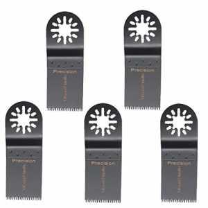 BABAN 5pcs Lames de précision lame oscillante de BABAN lame de scie pour Fein Multimaster Bosch outils à usages multiples Outillage Bois