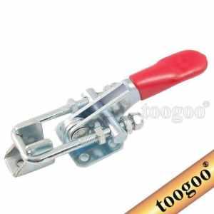 TOOGOO(R) 163kg 359Lbs clamp bascule en metal Capacite de retention et de verrouillage