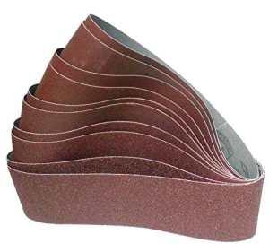 Lot de 10bandes abrasives Klingspor | Premium 100x 915mm–Grain 60-180