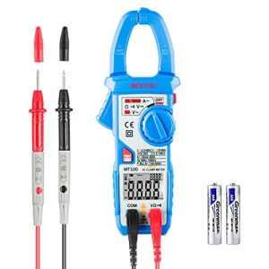 Pince Amperemetrique JANISA MT100 Multimetre Numerique Digital Clamp Meter testeur de courant de prise de tension Voltmètre Ohmmètre Ampèremètr Instruction Française en PDF