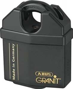 ABUS 37/60 GRANIT INSURANCE PADLOCK CLOSED SHACKLE by Toolbank (First Order Account)