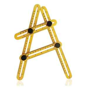 Angle Règle, outil de mesure des angles, NEIVLER Angle-izer Modèle Outil, multi-angle de mesure Règle, facile d'utilisation pour de menuisier, sols et autres travaux de mesurage d'angle