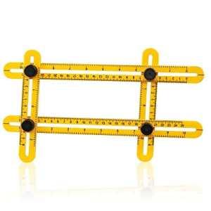 Micsoa Multi Angle Template Outil de mesure Angle Outil pour Carpenter, Constructeurs, Artisans et Diy-ers