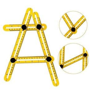 Bristoll Angle-izer Outil de modèle, modèle de Règle à angles Mesure toutes les angles et formulaires pour établis, Constructeurs, Artisans