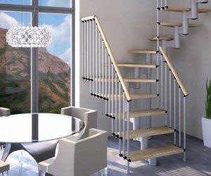 Escaliers dans les ensembles de Construction Mister Step universel Maxi U 94