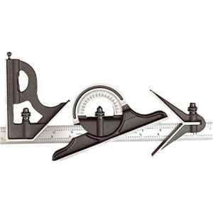 précis Conçu pour scie-cloche Starrett 435Me-300Équerre combinée 300mm 11,3/10,2cm [Lot de 1]–W/3YR rescu3® garantie