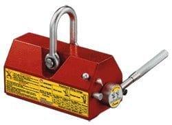 boucliers Company Slm-100Ez-lift Permanent Aimant de levage avec capacité de 220livres.