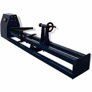 vidaXL Tour à bois électrique 1000 mm 400 W Tournage sur bois Machine d'atelier