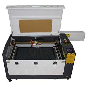 TEN-HIGH 4060 400x600mm 15.7″x23.6″ 80W craft laser engraving cutting machine, Standard version.Include rotary axis.