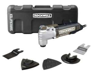 Rockwell Rk5139K Sonicrafter Hyperlock avec ajustement universel oscillant Outil Kit