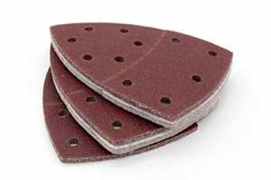 100X Prio Système de papier abrasif 105x 152mm–Grain 240Pour ponceuse multifonction (Velcro)