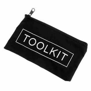 Noir Fermeture éclair Tissu Oxford 600d Tool Kit sac étanche de stockage Instrument Pouch
