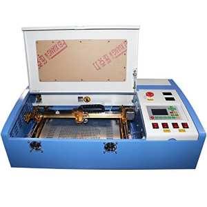 TEN-HIGH 3020 12″x 8″ 50W 220V CO2 Crafts Laser Engraving machine with USB port, Offline version