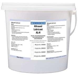 Weicon 26600100Allround Lubricant AL-T 25kg AL H 25000Graisse alimentaire 26500925