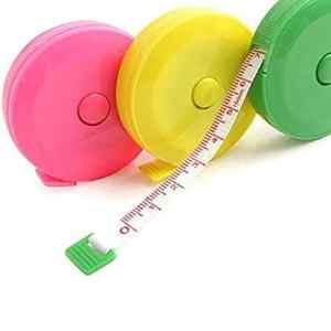1PC rétractable ruban à mesurer à coudre Tailor Tissu Règle pour corps Mesure Régime perte de poids couturière Tissu Ruler