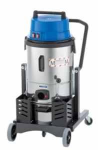 Euro Force Aspirateur de sécurité–Pot de Aspirateur à sec, 2400W–27L–Aspirateur eau et poussière nettoyage périphérique d'aspiration Appareils d'aspiration Aspirateur industriel