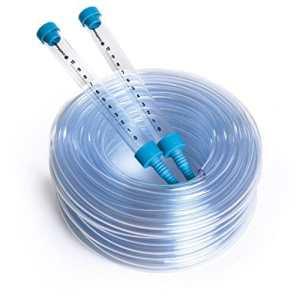 Kit de jauge de niveau d'eau pour tuyau d'arrosage: 20m Distance Spirit Niveau Sight tubes