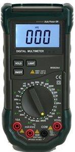 Mastech MS8264 Multimètre digital AC/DC gammes auto-manuelles