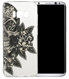 Nnopbeclik [Coque Samsung Galaxy S8 Plus Dessin] « Mignonne Motif » Imprimé Style Soft/Doux Silicone antichoc Transparente Case Backcover Housse pour Samsung Galaxy S8 Plus Coque Silicone (6.2 Pouce) Antiglisse Anti-Scratch Etui « NOT FOR S8 5.8 » – [a05]