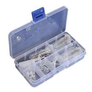 aikesi Lunettes Kit d'Assortiment d'outils de réparation optique Jeu de vis de boulon