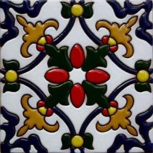 Fine Crafts & Imports 4.2×4.2 aubépine tuile malibu Argile