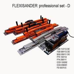 Flexisander Flexisander Professional Ensemble D–outils pour poncer, remplissage et de contrôle pour surfaces courbes