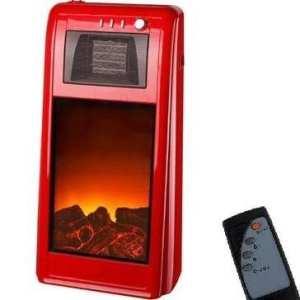 Syntrox germany-radiateur céramique-avec flamme purificateur d'air-avec télécommande