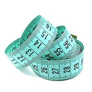 Whobabe Ruban à mesurer à règle Verte DE 1,5 m