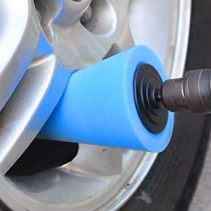 Burnishing Sponge Cone Shaped Buffing Pads Metal Polishing Foam Pad Wheel Care