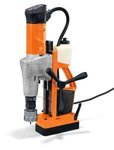 Fein KBM 65 U Unité de Perçage/Magnétique pour Carotteuse Métal, Orange, 65 mm