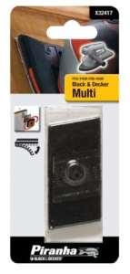 Bouts pour multi-ponceuse, lot de 4, Spare Platen par Black+Decker